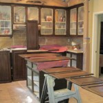 Kitchen Cabinets During Lacquer